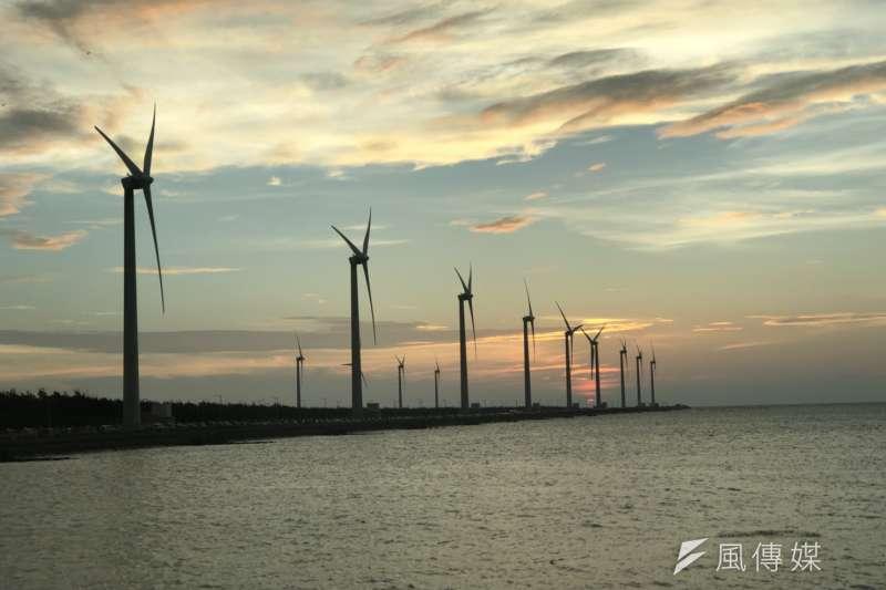 綠電風電在代替核電,台灣的能源風險恐高於預期。(呂紹煒攝)