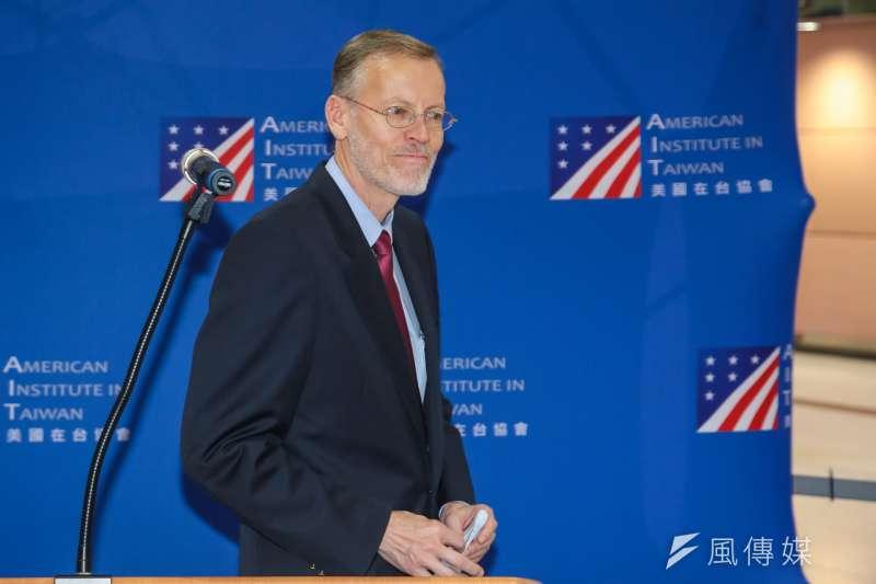 美國在台協會(AIT)處長酈英傑。(資料照,顏麟宇攝)