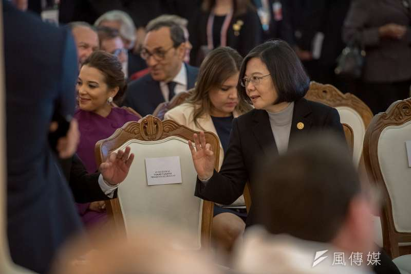 20180815-總統蔡英文出席巴拉圭共和國總統暨副總統就職典禮。(總統府提供)