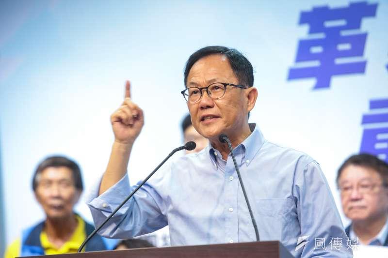 基本工資調漲,國民黨台北市長參選人丁守中開嗆,「難道23K就不是低薪嗎?」(資料照,顏麟宇攝)
