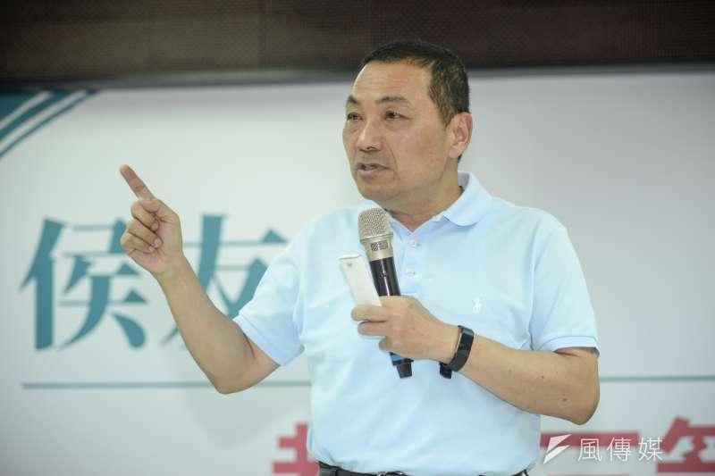 20180817-國民黨新北市長參選人侯友宜政策記者會。(甘岱民攝)