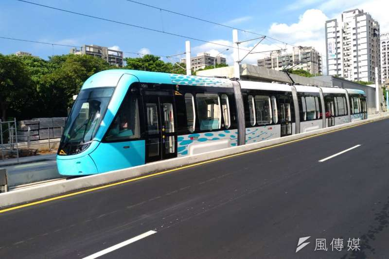 新北市淡海輕軌將通車,對週邊房市有何影響?(閻紀宇攝)