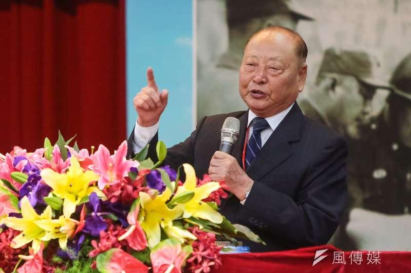 國防部前副部長的王文燮(見圖)29日上午疑因自撞車禍不幸身亡,享年87歲。(資料照,顏麟宇攝)