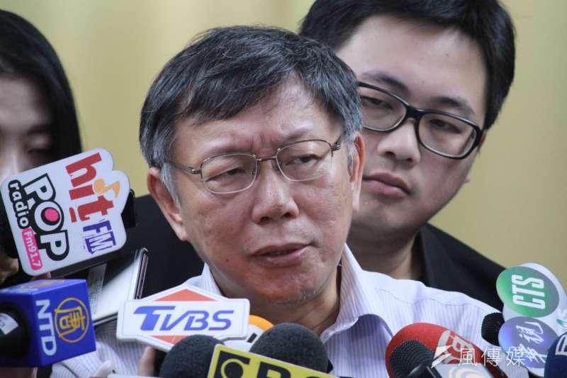 前柯文哲競選總部監票部隊執行長劉坤鱧24日在臉書再度指控柯「欠薪」,「我給柯文哲白幹了6個月的活」。(資料照,方炳超攝)