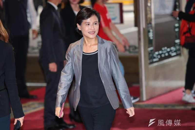 20180824-文化部長鄭麗君24日出席「紀念黃信介90誕辰音樂會」。(顏麟宇攝)