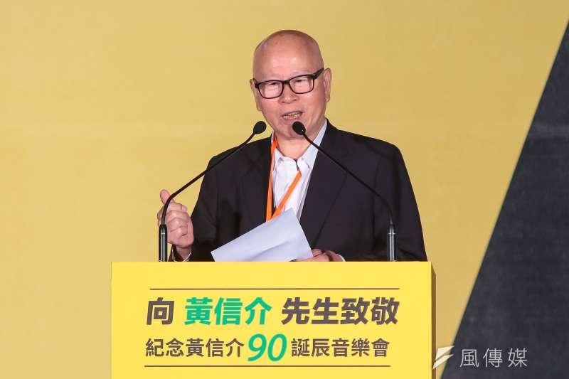 前民進黨主席、亞太研究基金會董事許信良直言,若這次民進黨大輸,蔡英文將會放棄連任。(資料照,顏麟宇攝)