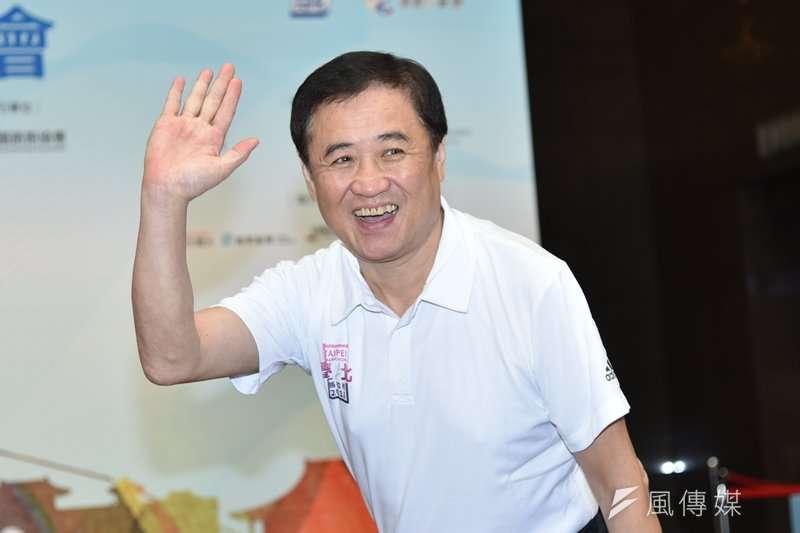 台北市副市長、北農董事長陳景峻指出,北農總經理吳音寧未向董事會報告詳細的市場改建案。(資料照,王永志攝)