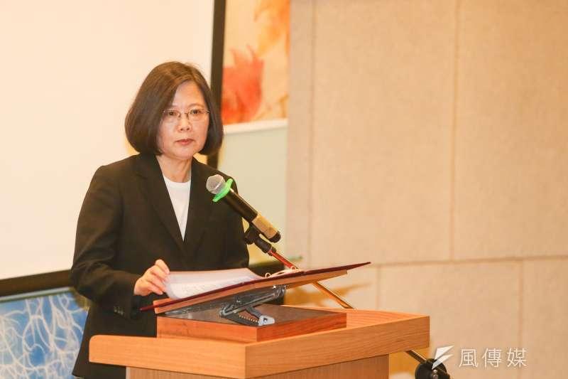 民調發現,台灣人認為總統蔡英文的弱項是「促進政黨合作解決棘手問題」、「用人唯才且選擇適當的人出任內閣部會首長」、「能有效管理和領導政府」。(資料照,陳明仁攝)