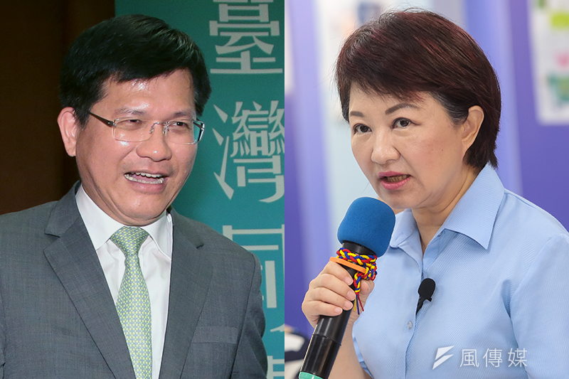 美麗島電子報民調顯示,台中市長選舉目前盧秀燕支持度高於林佳龍。(資料照,顏麟宇攝)