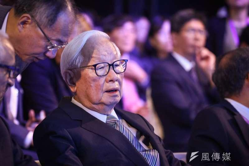 20180905-台積電創辦人張忠謀出席「SEMICON Taiwan 2018 國際半導體展」開幕典禮 。(陳品佑攝)