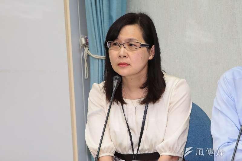 台日關係協會秘書長張淑玲(見圖)今強調,蘇啟誠輕生前1天,她絕對沒和蘇啟誠聯繫。(資料照,顏麟宇攝)
