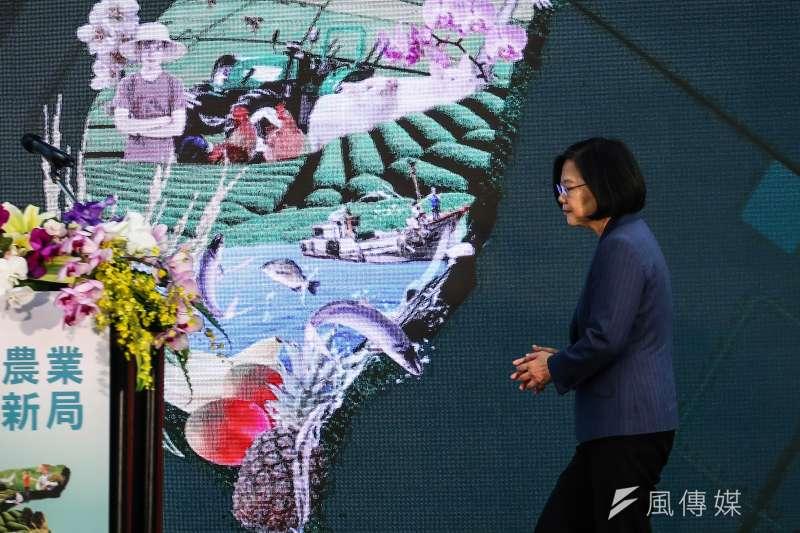 蔡英文總統說台灣人均GDP超越南韓,從數字上看甚至直逼日本,不過多數國民却無感。(陳品佑攝)