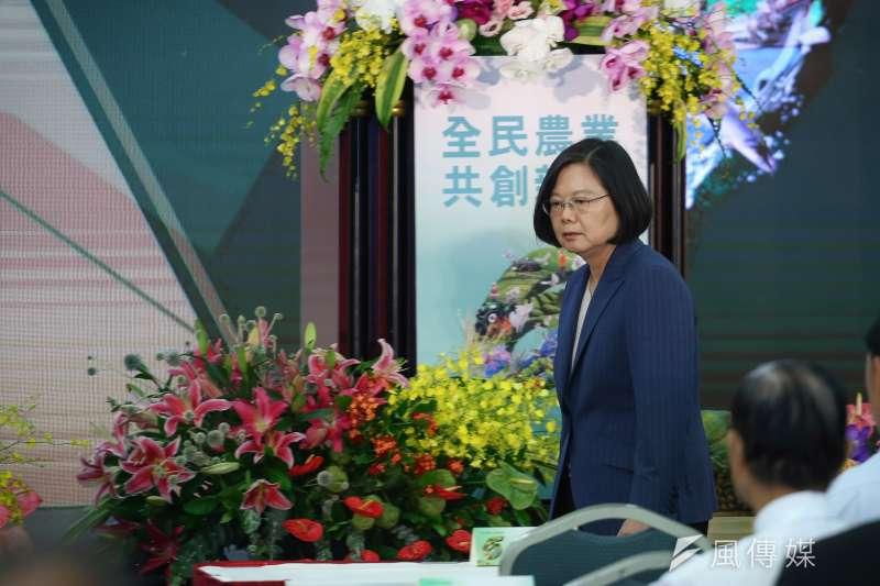 駐日本大阪辦事處蘇啟誠自殺身亡,總統蔡英文哀悼。(資料照片,陳品佑攝)