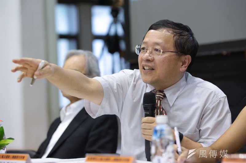 促轉會前副主委張天欽把獨立機關玩成「東廠」,是蔡政府惡搞獨立機關的經典案例 。(顏麟宇攝)