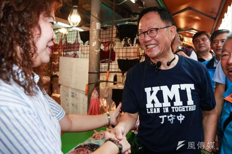 國民黨台北市長參選人丁守中。(資料照,簡必丞攝)