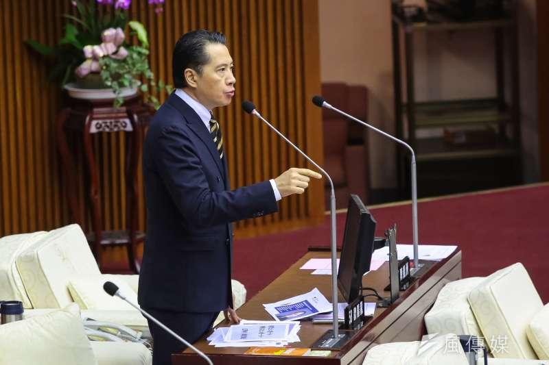 國民黨發言人歐陽龍今天表示,國民黨支持九二共識,過去兩岸會談也都以此為基調,台灣民眾不接受一國兩制,國民黨也不可能去承認。(資料照,顏麟宇攝)