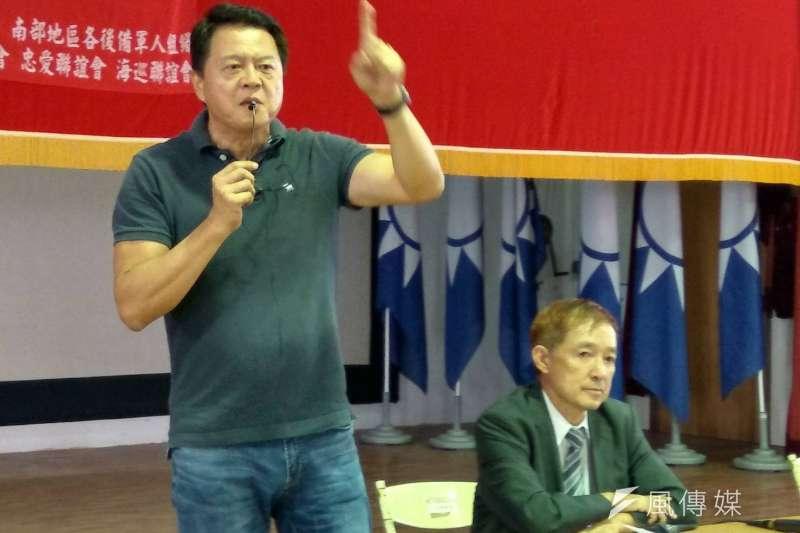 國民黨主席吳敦義2日證實,前台北縣長周錫瑋將出任國民副黨主席。(資料照,徐炳文攝)