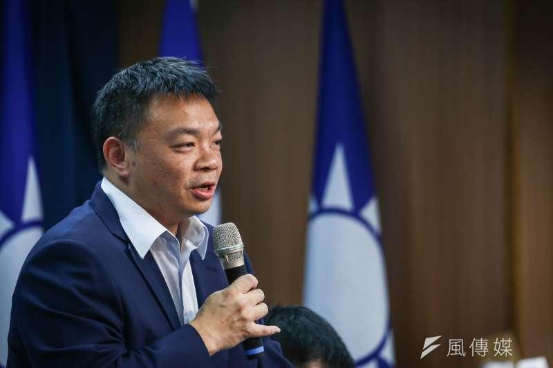 《聯合報》公布台南市長選情民調,無黨籍候選人林義豐首次超越國民黨候選人高思博,高思博對此表示數字都會上下,會參考,但不用過於計較。(資料照,陳品佑攝)