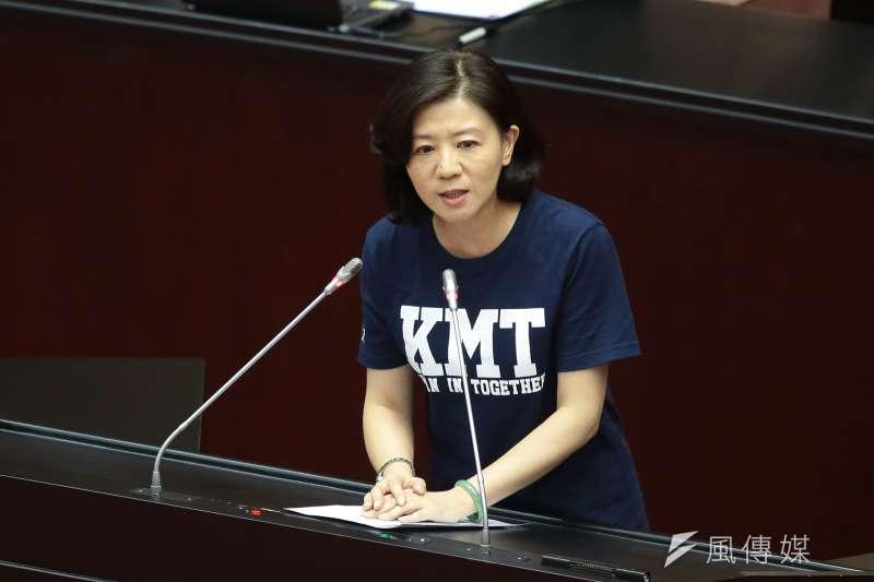 國民黨立委王育敏表示,台灣若爆發疫情,中國一樣不利,兩岸應該要合作。(資料照,顏麟宇攝)