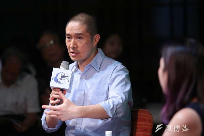 20180915-香港科技大學副教授常成15日出席思沙龍「你所不知道的韓戰」座談。(顏麟宇攝)