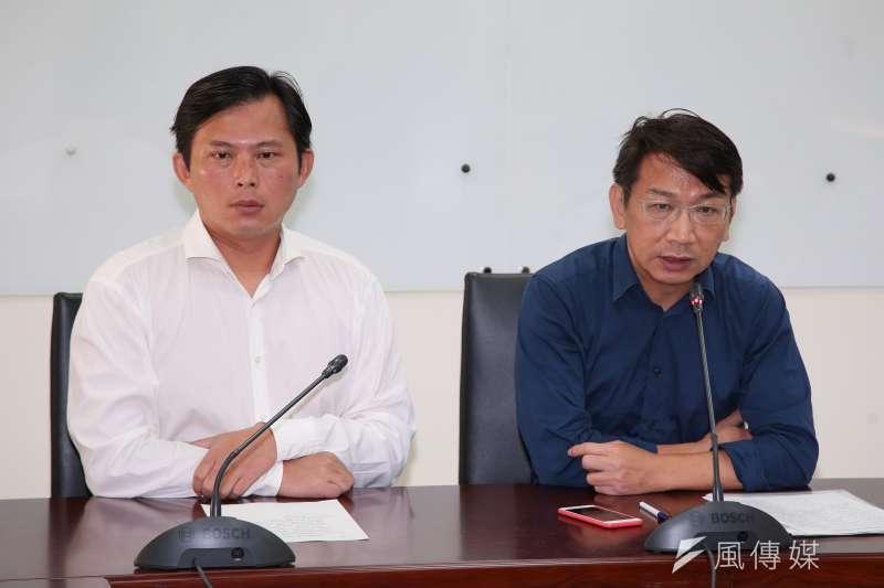作者認為,國民黨、民進黨都為台灣打下不少基礎,但既然兩黨都迷失了方向,時代力量就應該為新世代的台灣人發聲!。(顏麟宇攝)