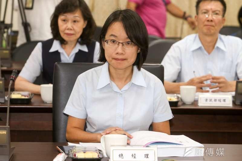 北農總經理吳音寧堅持不到台北市議會備詢,台北市政會議修改相關條例,要求官股代表須備詢。(陳明仁攝)