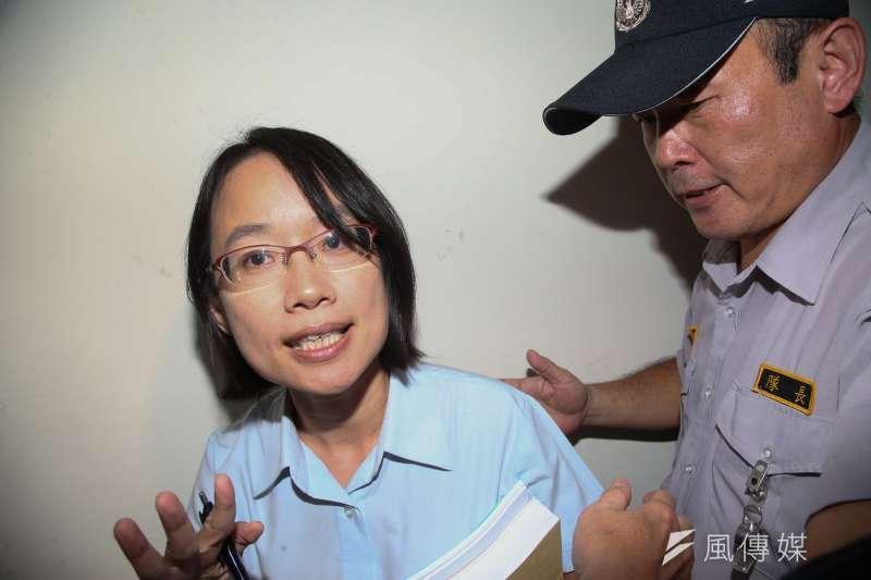 20180919-北農董事會.總經理吳音寧出席。被媒體擠爆。(陳明仁攝)