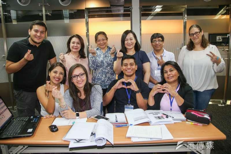 陽光基金會過去培訓課程均在友邦尼加拉瓜舉行,今年的培訓課程特別移師台灣。(陳明仁攝)