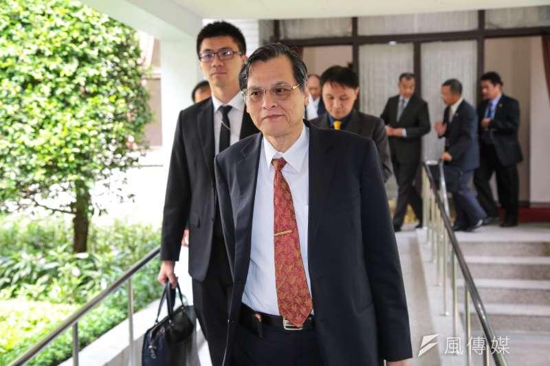 陸委會主委陳明通21日出席立院總質詢。(資料照,顏麟宇攝)