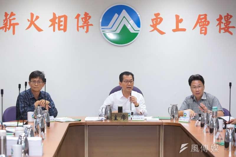 20180926-環保署長李應元26日主持「中油觀塘案環評大會」。(顏麟宇攝)