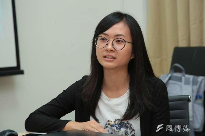 20180926-台科大行動工程師專訪,吳旻臻。(顏麟宇攝)