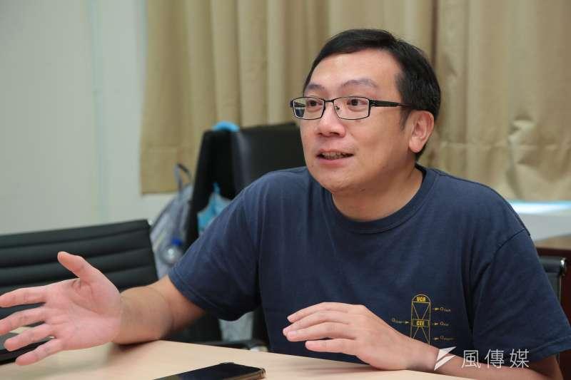 20180926-台科大行動工程師專訪,台科大化工系副教授蔡伸隆。(顏麟宇攝)