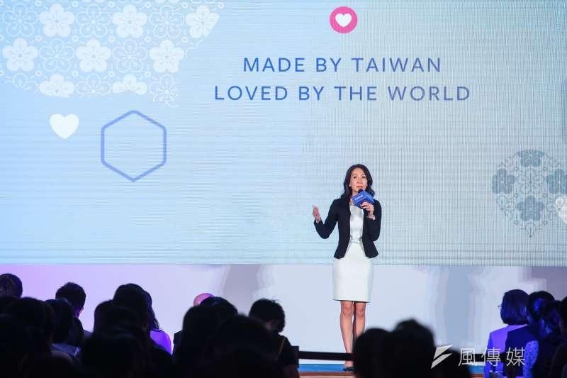 20180927-Facebook台灣及香港總經理余怡慧27日出席 Facebook Made by Taiwan 活動。(顏麟宇攝)