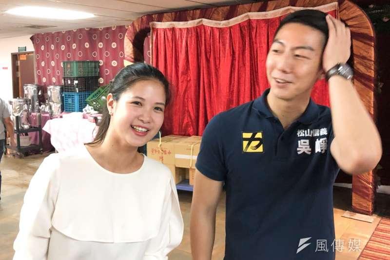 時代力量市議員林亮君、吳崢宣布退黨。(資料照片,方炳超攝)