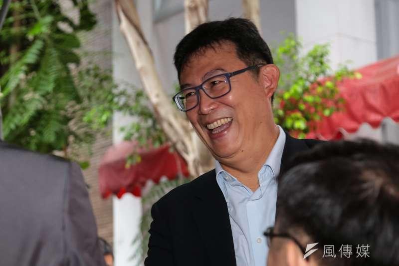 民進黨台北市長參選人姚文智。(顏麟宇攝)