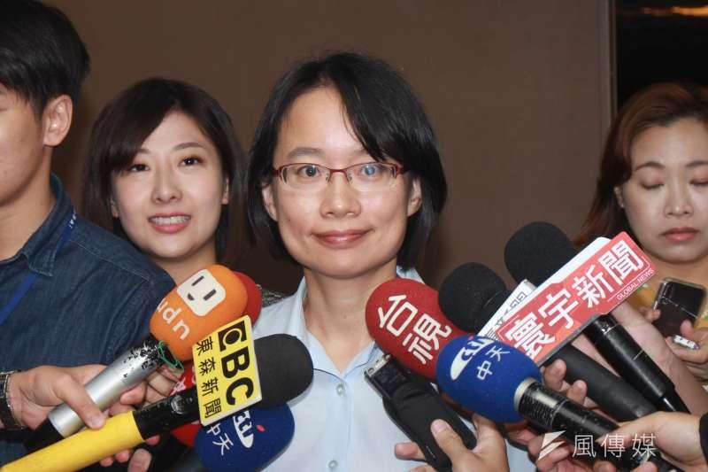 北農總經理吳音寧強調,北農提供公正、透明的交易區域,「謠傳不會讓台灣農業更好」。(資料照,方炳超攝)