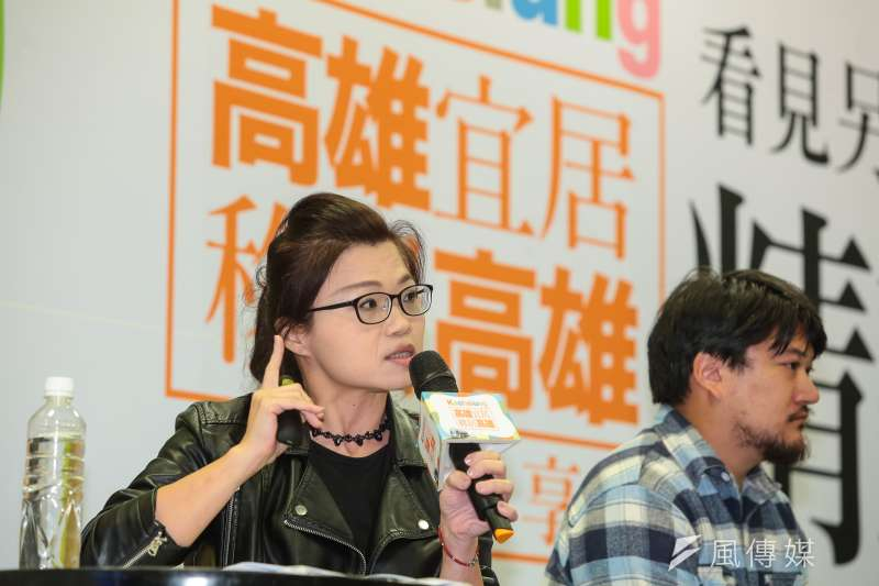 20180929-DAKUO數創中心 Emma 29日出席「高雄宜居,移居高雄」分享會。(顏麟宇攝)