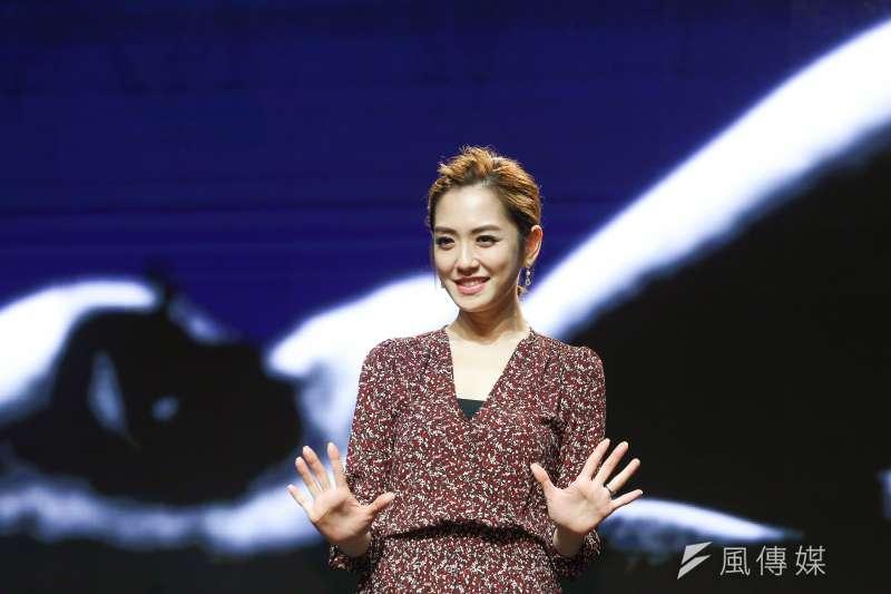20181001-第55屆金馬獎入圍公布記者會,圖為楊千霈。(陳品佑攝)