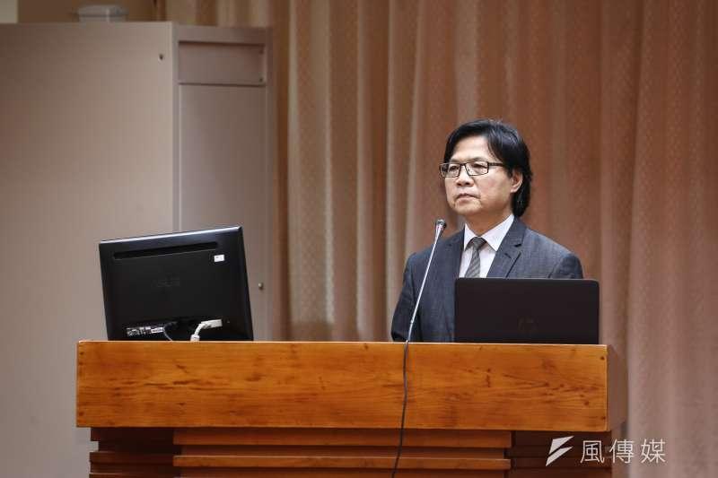 立院教育文化委員會,圖為教育部長葉俊榮。(陳品佑攝)
