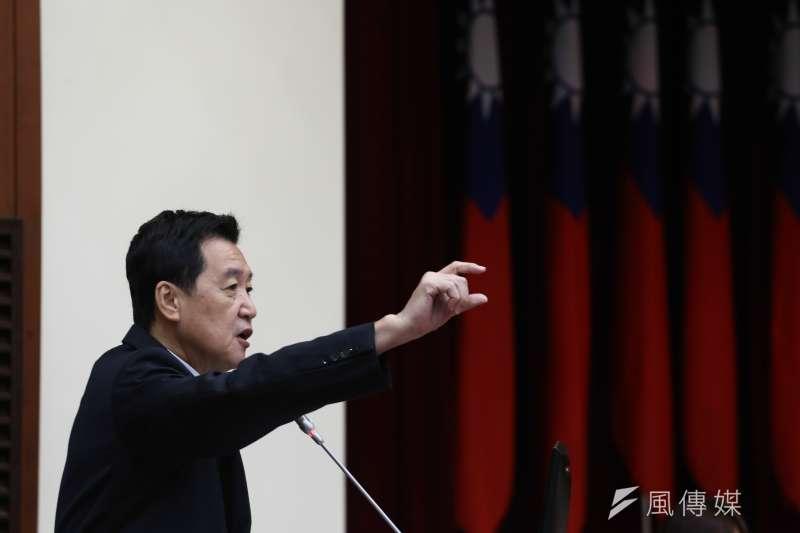 20181001-立法院財政委員會,圖為立委費鴻泰。(陳品佑攝)