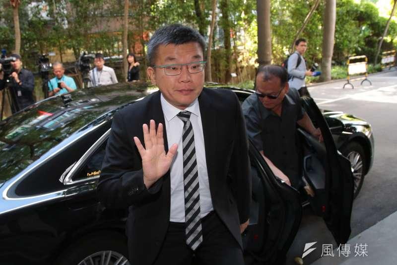 20181002-立法院副院長蔡其昌2日出席主持立院總質詢。(顏麟宇攝)