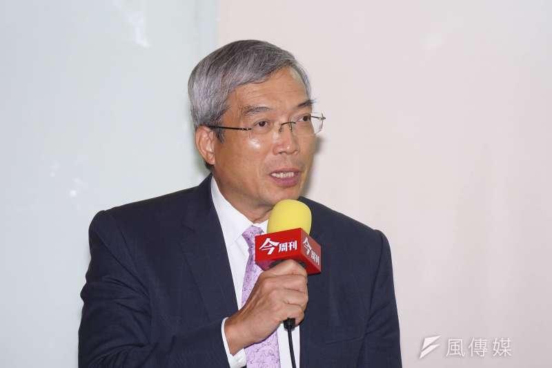 財信傳媒董事長謝金河(見圖)指出,松瀚科技董事長陳賢哲及漢民科技的黃民奇這2人可說是台灣最低調的千億富豪。(資料照,盧逸峰攝)