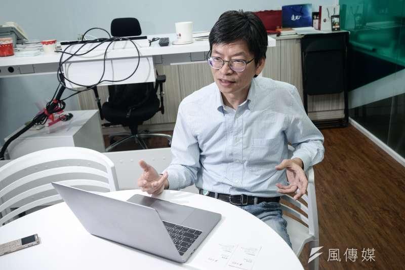 20181003-循環經濟專題,台大創創加速器執行長曾正宗。(甘岱民攝)