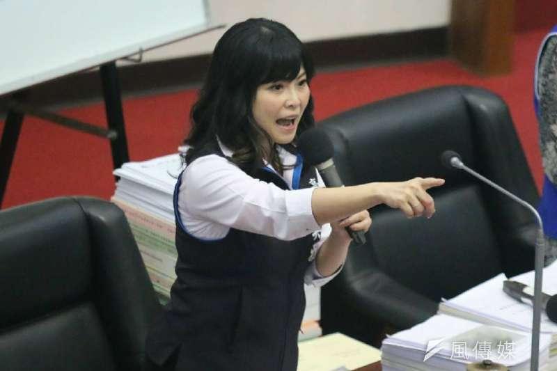 國民黨高雄市議員陳美雅(見圖)接受媒體訪問,直言2020總統大選是「不對稱戰爭」。(資料照,徐炳文攝)