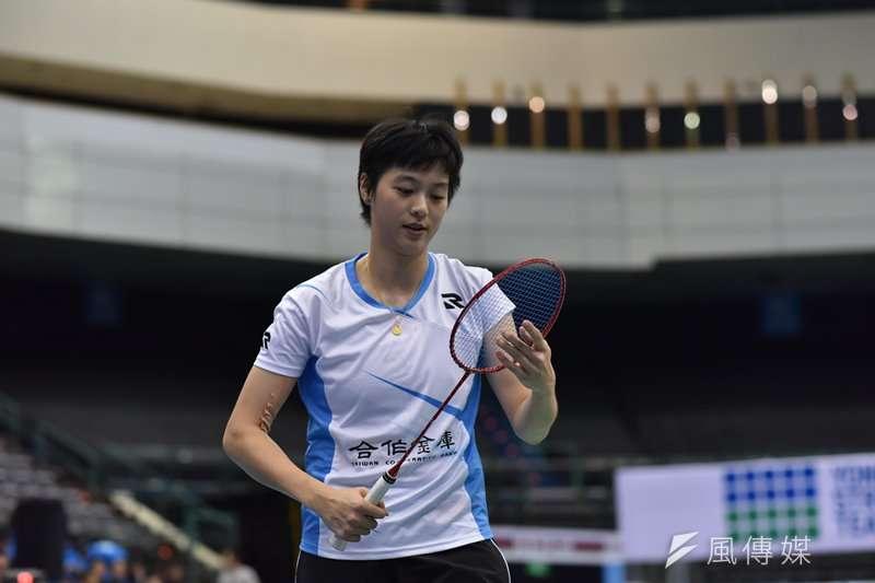 白馭珀領軍,羽球亞團賽中華女團3比2擊敗新加坡。(資料照,王永志攝)
