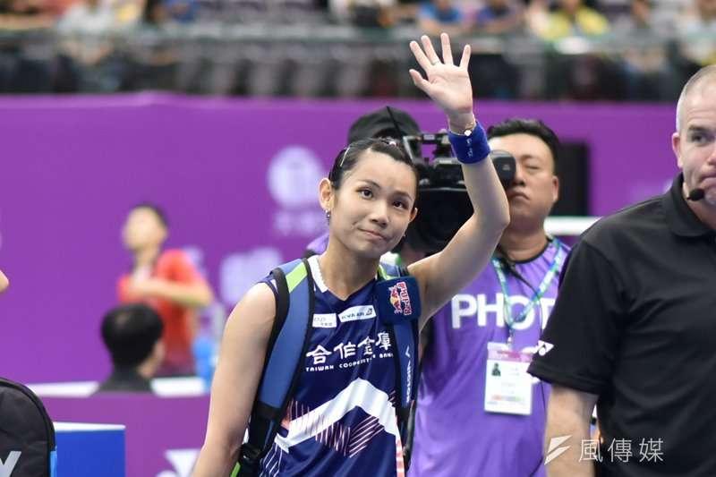 我國女子羽球單打好手戴資穎,獲得世界羽聯年終獎項–年度最佳女選手的提名,將與中國混雙名將以及日本黃金女雙競爭。(資料照,王永志攝)