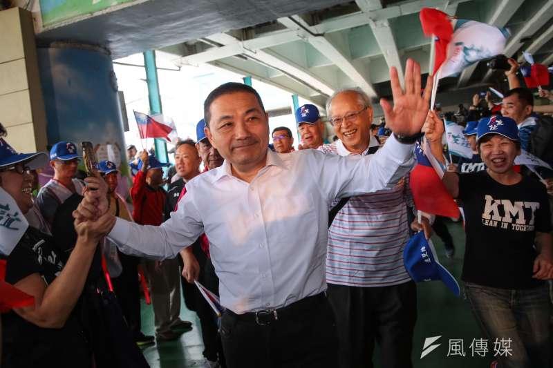 國民黨台北市長參選人侯友宜表示,民進黨把深澳燃煤電廠跟觀塘來作交換,是把桃園和新北市的600萬人民作為選舉籌碼。(資料照,顏麟宇攝)