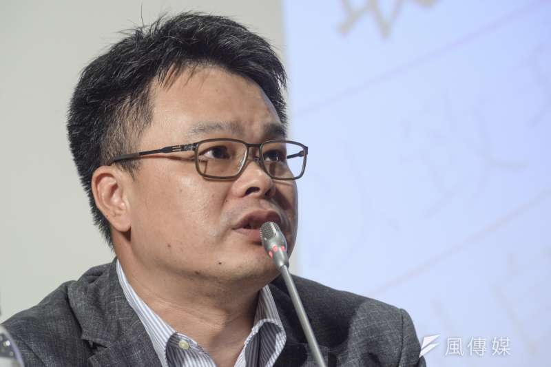 20181007-「此人沒有教化可能性?」2018台灣死刑判決研討會,律師林俊宏。(甘岱民攝)