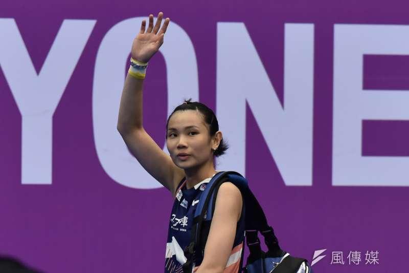 戴資穎在新加坡公開賽封后,這是小戴生涯第二次在此奪冠。(王永志資料照片)