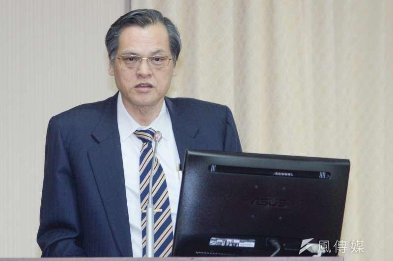 20181008-立法院內政委員會,陸委會主委陳明通報告。(甘岱民攝)